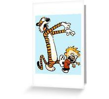 Calvin & Hobbes Greeting Card