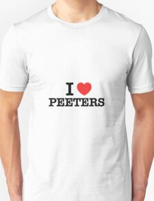 I Love PEETERS T-Shirt
