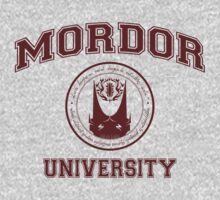 MORDOR UNIVERSITY - ONE DOES NOT SIMPLY GRADUATE by hopper1982