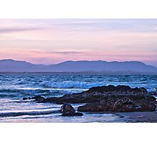 A Pastel Pink Sunset Photographic Print
