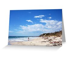 Beach Sunday 09 12 12 Greeting Card