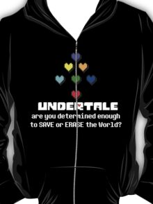 Undertale Zipper T-Shirt