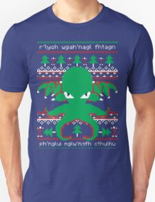 CTHULHU CHRISTMA-Cthulhu Claus is coming to town. T-Shirt