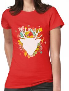 Christmas & New Year Womens Fitted T-Shirt