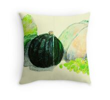 double Portrait of Spain Throw Pillow