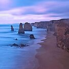 The Apostles at Dusk by Jill Fisher