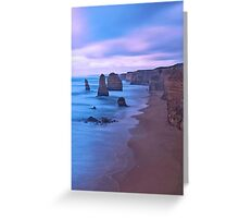 The Apostles at Dusk Greeting Card