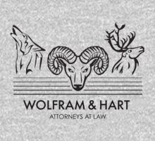 Wolfram & Hart: Attorneys at Law Kids Tee