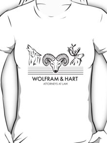 Wolfram & Hart: Attorneys at Law T-Shirt