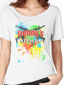 Denny's is for Winners Women's Relaxed Fit T-Shirt