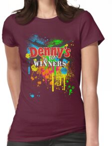 Denny's is for Winners Womens Fitted T-Shirt