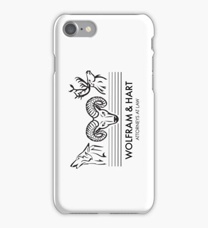Wolfram & Hart: Attorneys at Law iPhone Case/Skin