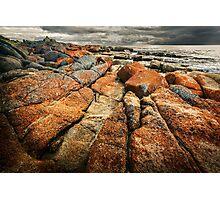 Rocks & Gloom Photographic Print