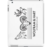 Wolfram & Hart: Attorneys at Law iPad Case/Skin