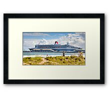 Queen Mary II  Framed Print