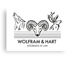 Wolfram & Hart: Attorneys at Law Canvas Print