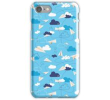 Paper Airplanes iPhone Case/Skin