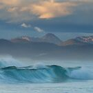 Sunrise Waves at Friendly Beaches by John Conway