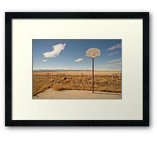 Basketball Hoop 1 Framed Print