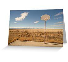 Basketball Hoop 1 Greeting Card