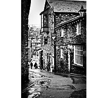 Sheila's Cottage in Ambleside, Lake District, in monochrome Photographic Print