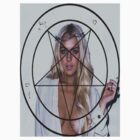 Lindsay Lohan pentagram by lilolover