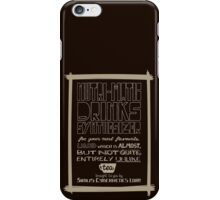 Nutri-Matic Drinks Synthesizer iPhone Case/Skin