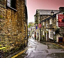 Sheila's Cottage in Ambleside, Lake District, UK by Elana Bailey