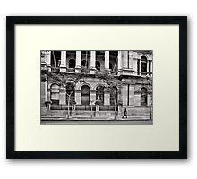 Stately Stroll - Brisbane - Australia Framed Print