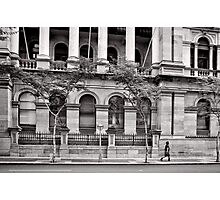 Stately Stroll - Brisbane - Australia Photographic Print