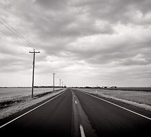 Clouds gathering over Goondiwindi - QLD - Australia by Norman Repacholi