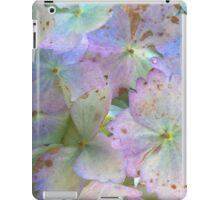 Purple And Green Hydrangeas iPad Case/Skin