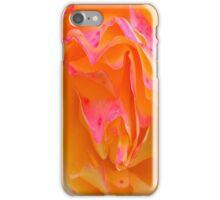 Pink And Orange Rose iPhone Case/Skin