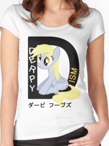 Derpyism: MLP: FiM Women's Fitted Scoop T-Shirt