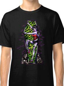 Pin Up Ghouls - Vampire Girl Classic T-Shirt