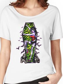 Pin Up Ghouls - Vampire Girl Women's Relaxed Fit T-Shirt