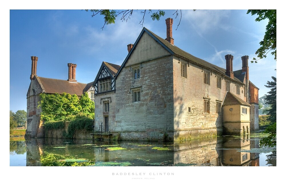 Baddesley Clinton, Warwickshire by Andrew Roland