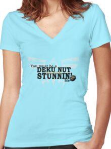 Stunnin' Women's Fitted V-Neck T-Shirt