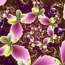 Swirling Butterfly Jewel by Junior Mclean
