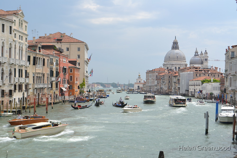 Grand Canal by Helen Greenwood