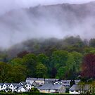 Bad weather in Grasmere, Lake District, UK by Elana Bailey