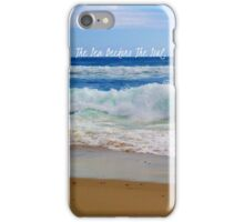 The Sea Beckons The Soul iPhone Case/Skin