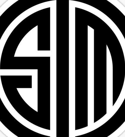 TSM White Logo Sticker