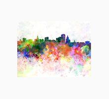 Hartford skyline in watercolor background Unisex T-Shirt
