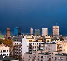 Warsaw Cityscape by Artur Bogacki