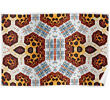 Geometric Patterns No. 51 Poster