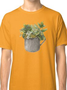 Mug with green forest growth Classic T-Shirt