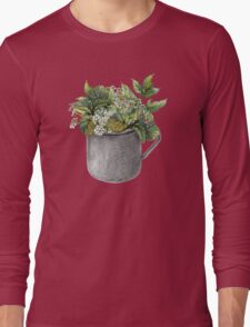 Mug with green forest growth Long Sleeve T-Shirt