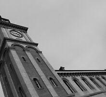 City Clock, Newcastle. NSW. Australia by TJSphoto
