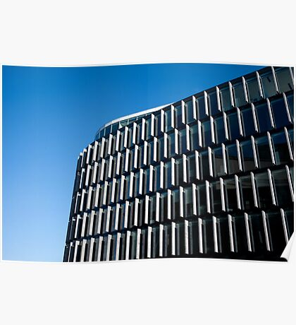 Office Building Contemporary Architecture Poster